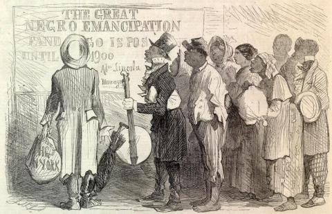 EMANCIPATION PROCLAMATION LIMITATIONS (Illustration) American History Awesome Radio - Narrated Stories Civil Rights Government Law and Politics Slaves and Slave Owners Social Studies Nineteenth Century Life Ethics African American History