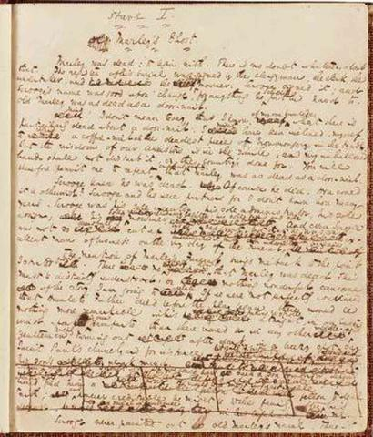 A Christmas Carol - Original Manuscript Fiction