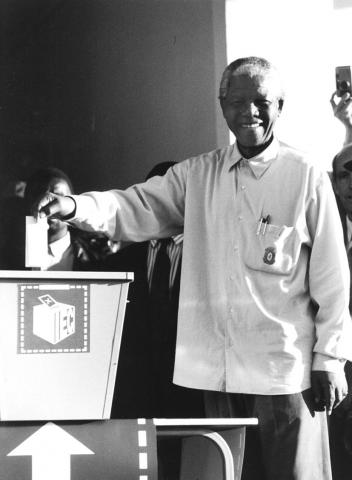 Mandela Votes for the First Time Civil Rights Biographies Famous Historical Events Famous People Government History Social Studies