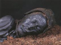 Tollund Man with Rope around His Neck