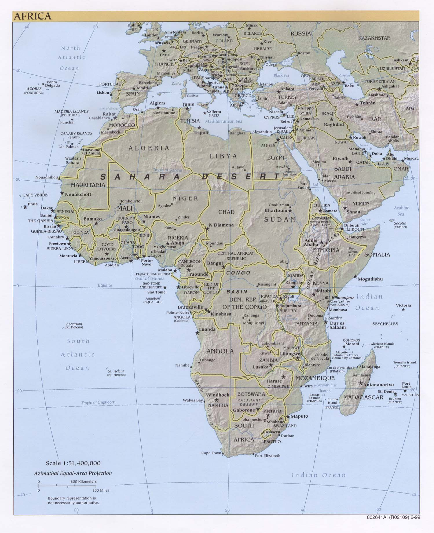 Map of africa map of africa social studies visual arts geography gumiabroncs Image collections