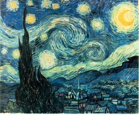 Vincent's Cultural Icon - Starry Night Tragedies and Triumphs Visual Arts Nineteenth Century Life Famous People