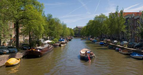 Amsterdam, a City of Canals Geography Social Studies