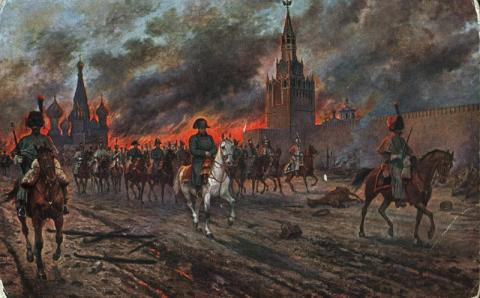 Napoleon at the Kremlin-The Invasion of Moscow