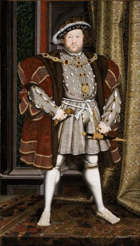 Henry VIII - Father of Elizabeth I Biographies World History Visual Arts