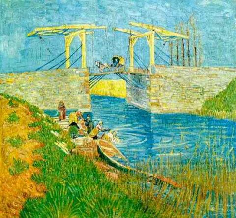 Langlois Bridge at Arles  Social Studies Tragedies and Triumphs Visual Arts Nineteenth Century Life