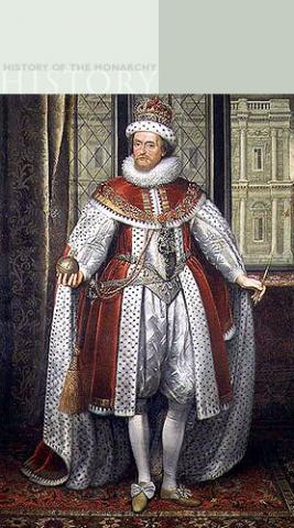 James VI - Mary's Son is Elizabeth I's Heir Famous People Social Studies World History Biographies