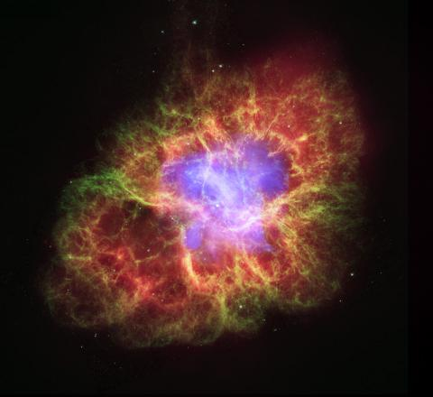 THE CRAB NEBULA (Illustration) World History Biographies Famous Historical Events Famous People Aviation & Space Exploration STEM Visual Arts Astronomy