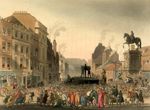 London's Pillory History Government Social Studies