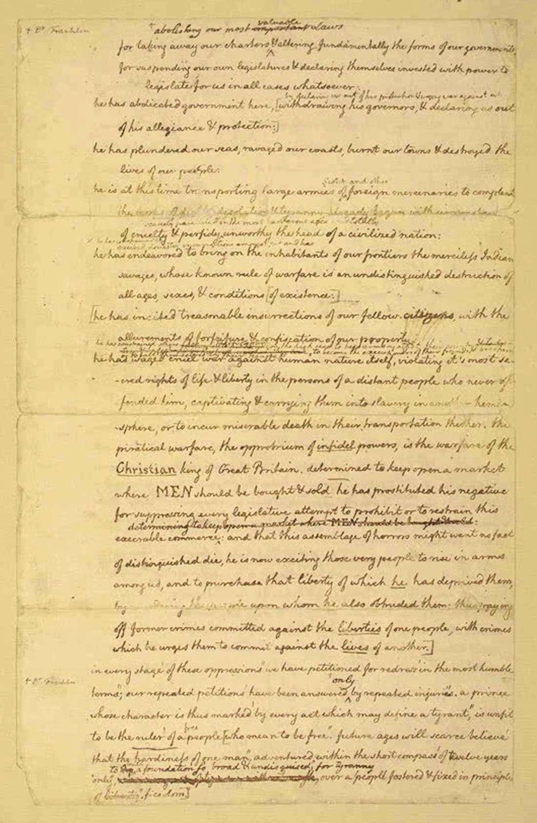 founding documents essay Online library of liberty this essay first appeared in the journal literature of of the many generalizations customarily made about the founding fathers.