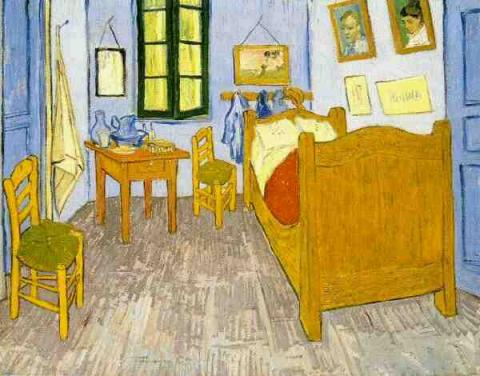 Vincent's Bedroom in Arles Biographies Famous People Tragedies and Triumphs Visual Arts Nineteenth Century Life