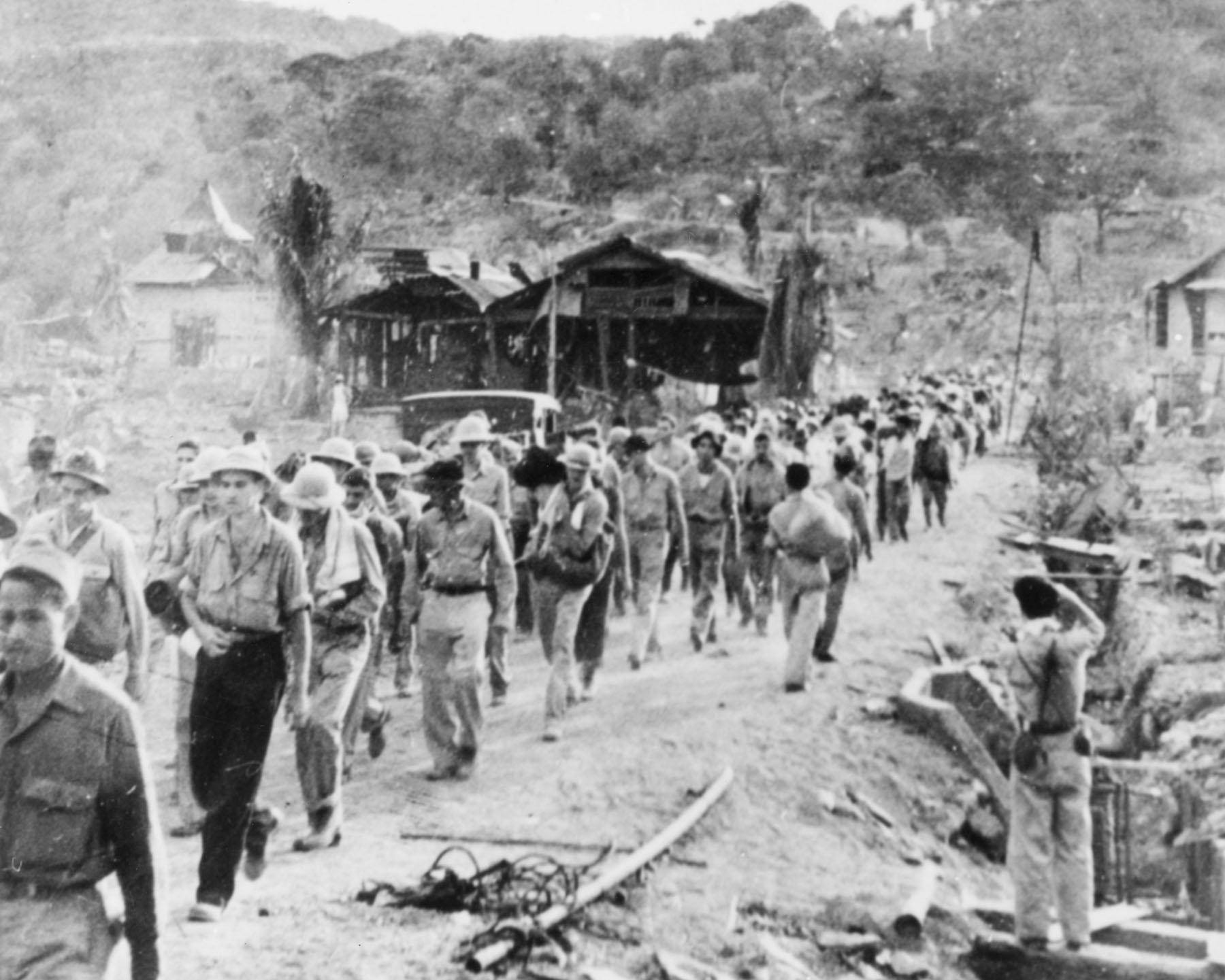 a review of the bataan death march 1 review of memorial bataan death march from a spectators perspective, the memorial bataan death march in new mexico is executed well enough so, that i don't mind going every year, spending the night, and hanging out at white sands all day.