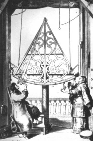 Hevelius with His Sextant and Wife Elizabeth World History Astronomy Famous People Social Studies Aviation & Space Exploration STEM