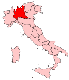 Lombardy Region of Italy