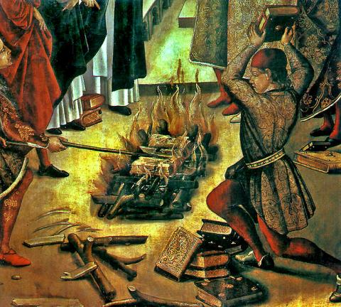 Book Burning and Censorship (Illustration) Ancient Places and/or Civilizations Civil Rights Disasters Famous Historical Events Law and Politics Medieval Times Nineteenth Century Life Social Studies Trials Tragedies and Triumphs Censorship