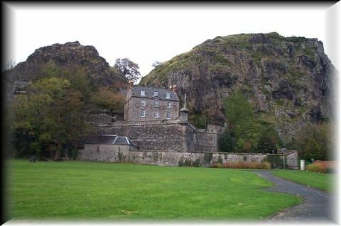 Castle at Dumbarton, Scotland