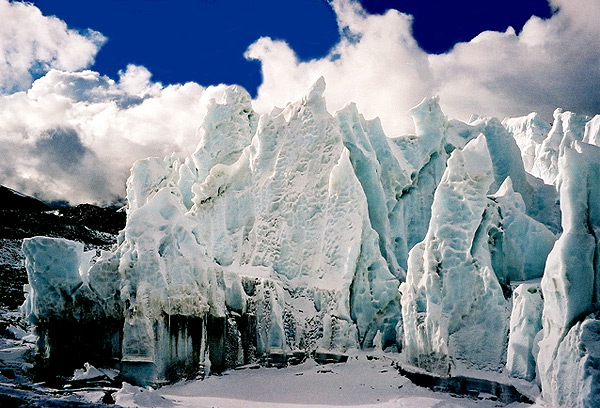 Ice Seracs at Everest