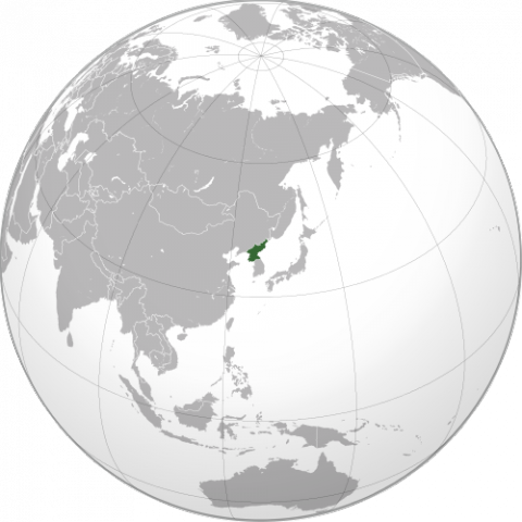 North korea on the world map north korea on the world map geography social studies visual arts world history gumiabroncs Gallery