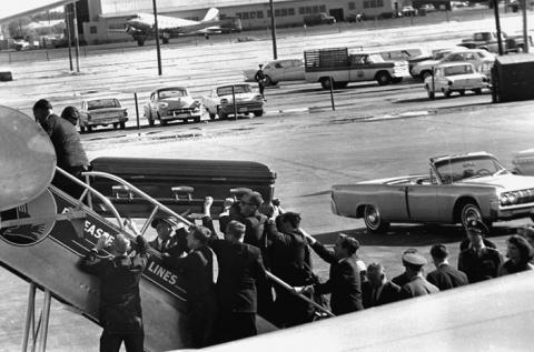 JFK's Coffin is Loaded on Air Force One American History American Presidents Disasters Social Studies The Kennedys Assassinations Tragedies and Triumphs