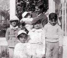 Arthur Llewelyn Davies and His Five Boys