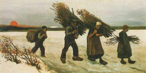 Wood Gatherers in the Snow Social Studies Tragedies and Triumphs Nineteenth Century Life Visual Arts