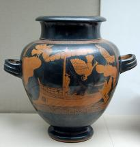 Odysseus and the Sirens - Greek Pottery