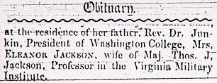 Obituary of Ellie Jackson Tragedies and Triumphs American History Social Studies