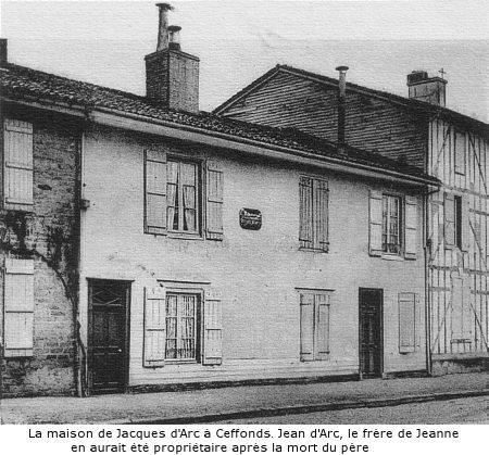 Childhood Home of Jaques d'Arc