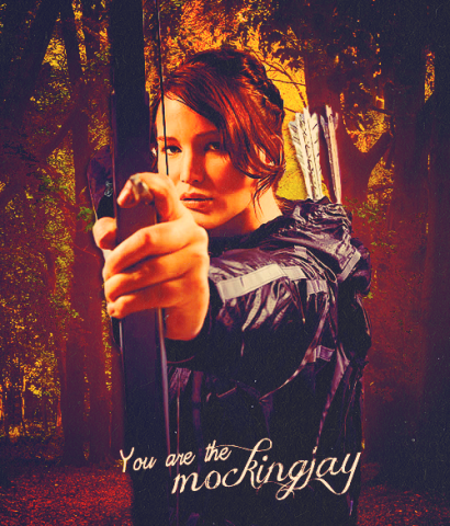 MOCKINGJAY (Illustration) Civil Rights Film Government Ethics Fiction Dystopia or Science Fiction