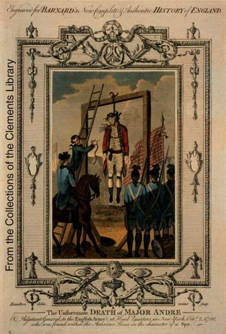 Execution, by Hanging, of John Andre
