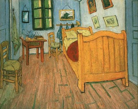 Vincent's Bedroom in Arles Famous People Visual Arts Nineteenth Century Life Biographies