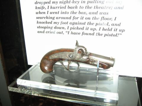 Murder Weapon - Derringer of John Wilkes Booth Disasters American History Famous Historical Events Famous People Social Studies