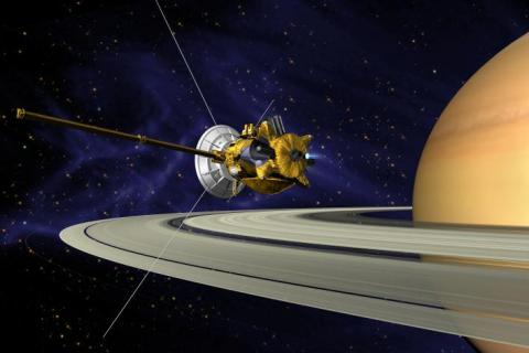 Cassini-Huygens Orbits Around Saturn Astronomy Education Famous Historical Events Aviation & Space Exploration STEM