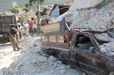 Port-au-Prince - City of Rubble Disasters Famous Historical Events Geography Social Studies World History