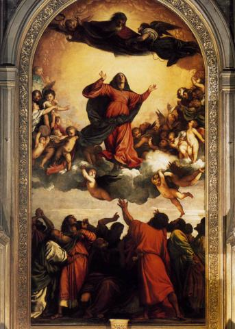 Titian - Assumption, c. 1516-1518 Philosophy Visual Arts Geography