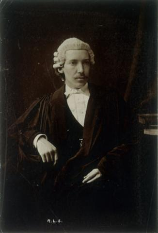 Robert Louis Stevenson as a Lawyer (Illustration) Law and Politics Biographies Famous People