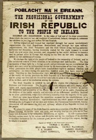 Proclamation: The Provisional Government of the Irish Republic Civil Rights Famous Historical Events Government Social Studies World History Visual Arts
