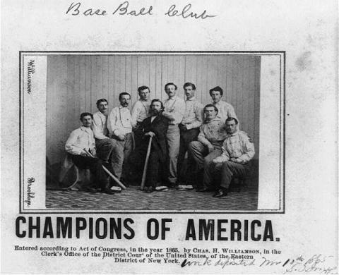 Brooklyn Atlantics - 1865 Champions of America American History Awesome Radio - Narrated Stories Social Studies Sports Visual Arts Tragedies and Triumphs