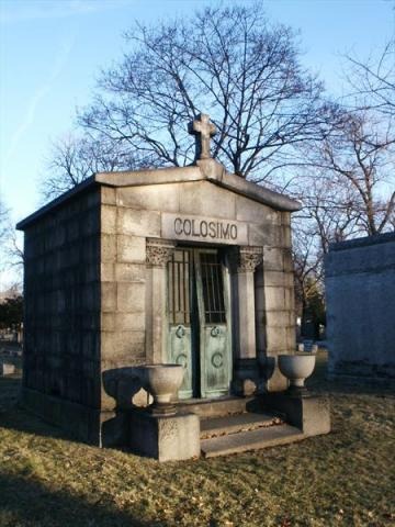 Colosimo Mausoleum American History Famous People Crimes and Criminals