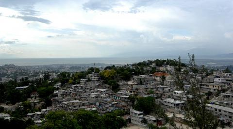 Aerial View - Port-au-Prince Disasters Geography World History