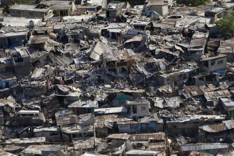 Haiti - Devastated Neighborhoods Disasters Famous Historical Events Geography Social Studies World History