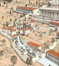 300 - Reconstruction of Delphi, Home of Delphic Oracle