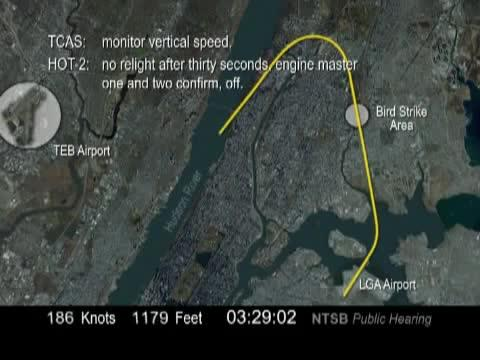 Plane in the Hudson River - Flight 1549