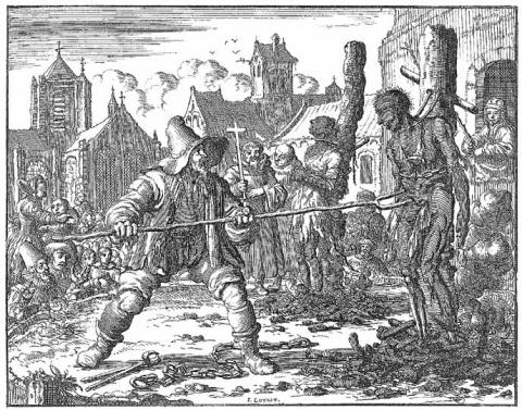 Method of Death in 1554 - Cruel and Unusual Crimes and Criminals Medieval Times Social Studies
