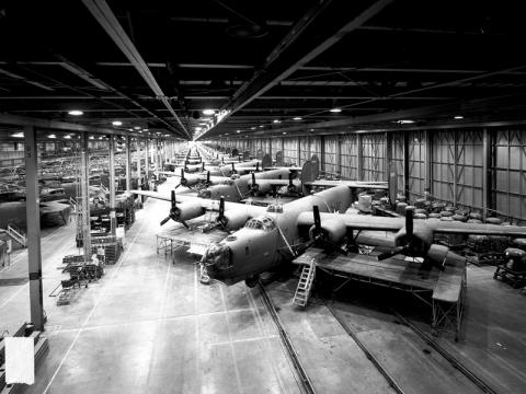 B-24s - Production at Willow Run American History Awesome Radio - Narrated Stories Biographies Film Geography Social Studies World War II Tragedies and Triumphs