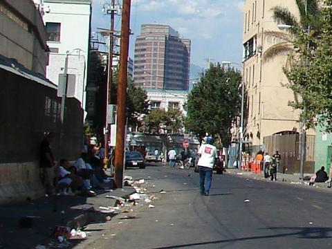 The Soloist - Skid Row in Los Angeles Ethics American History Geography Tragedies and Triumphs