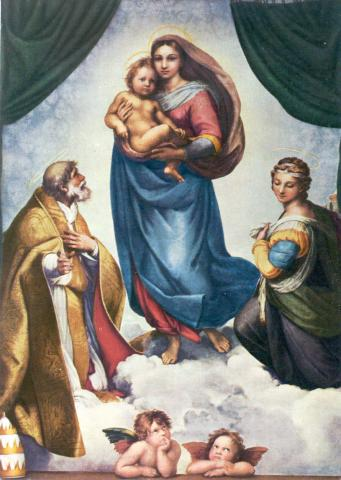 The Sistine Madonna - by Raphael Visual Arts Philosophy Social Studies