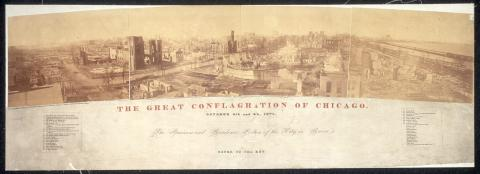 The Great Conflagration of Chicago American History Disasters Famous Historical Events Social Studies STEM Tragedies and Triumphs Nineteenth Century Life