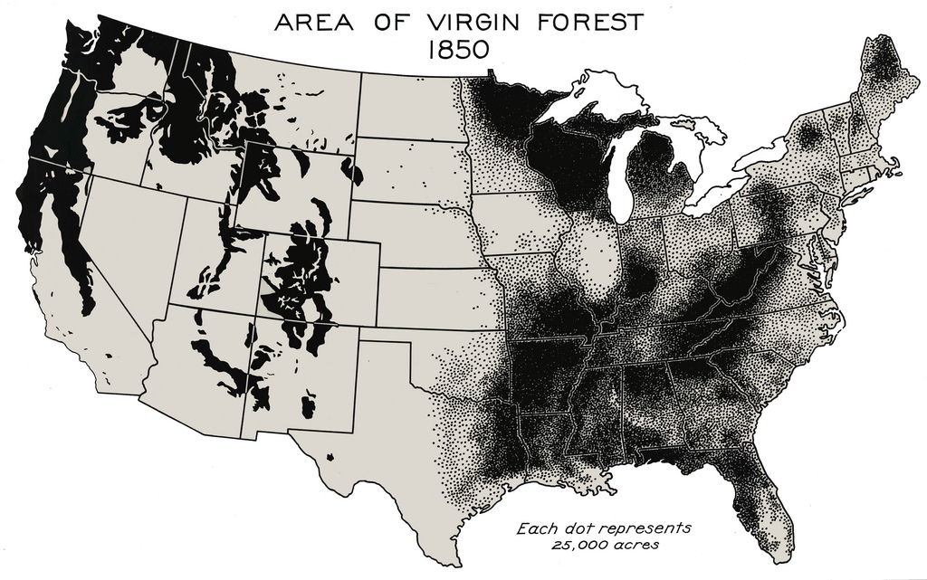 American Forests 1850