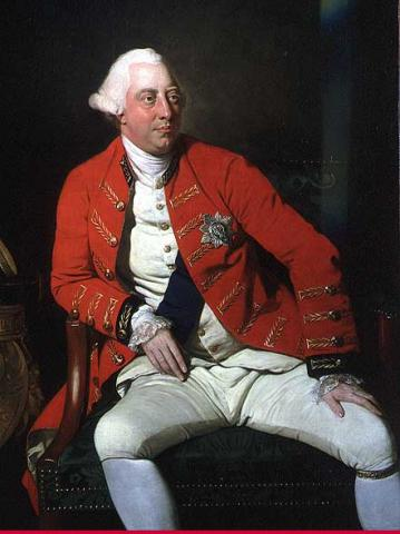 George III, King of Britain (Illustration) Tragedies and Triumphs Government Social Studies World History
